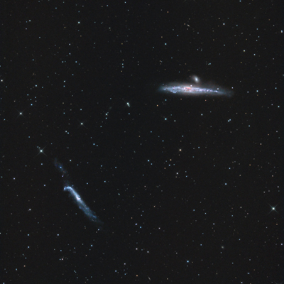 NGC 4631 und NGC 4656