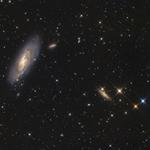 M106 und NGC 4217